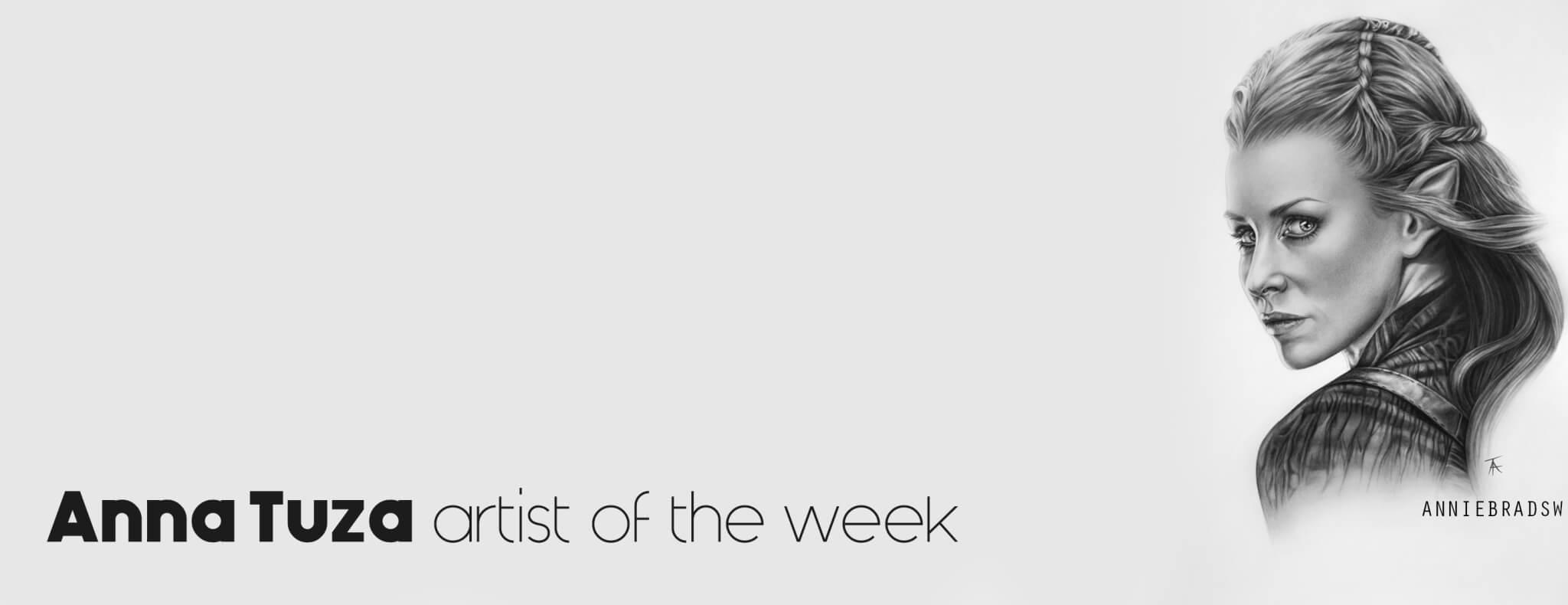 Anna Tuza artist of the week