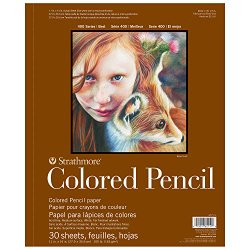 best paper for colored pencils art zone