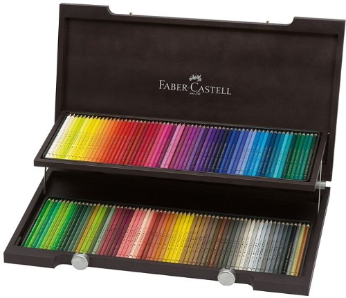 wooden case Faber Castell Polys