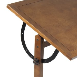 wooden-drafting-table