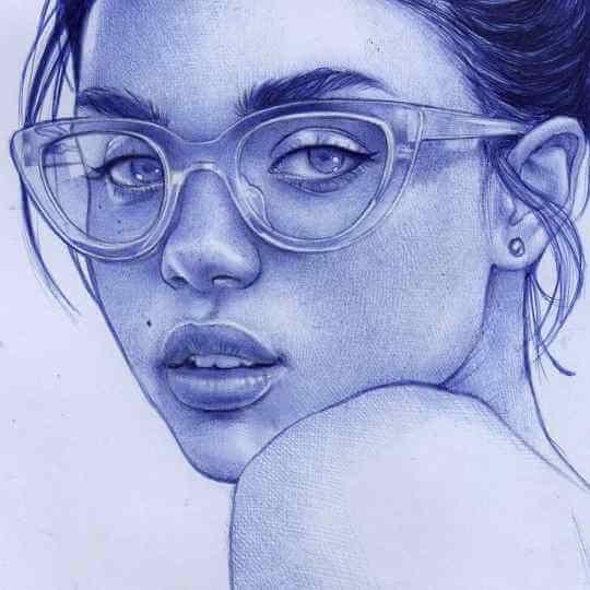 ballpoint pen artist sonia davel