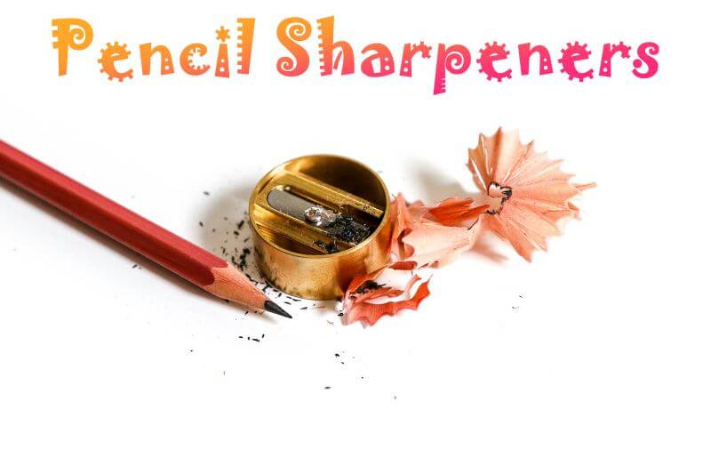 Pencil sharpener for graphite pencils