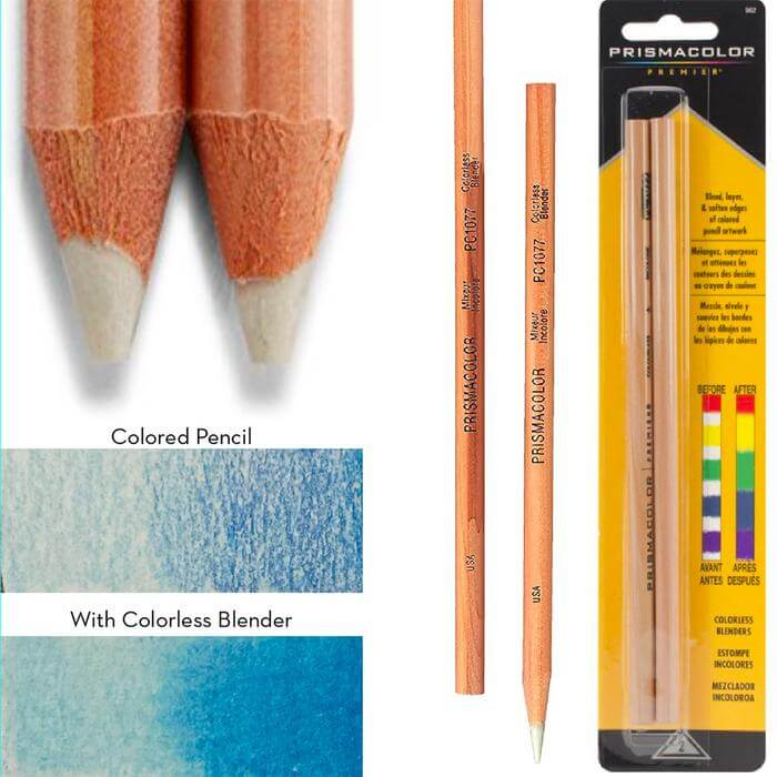 What Is a Colorless Blender Pencil