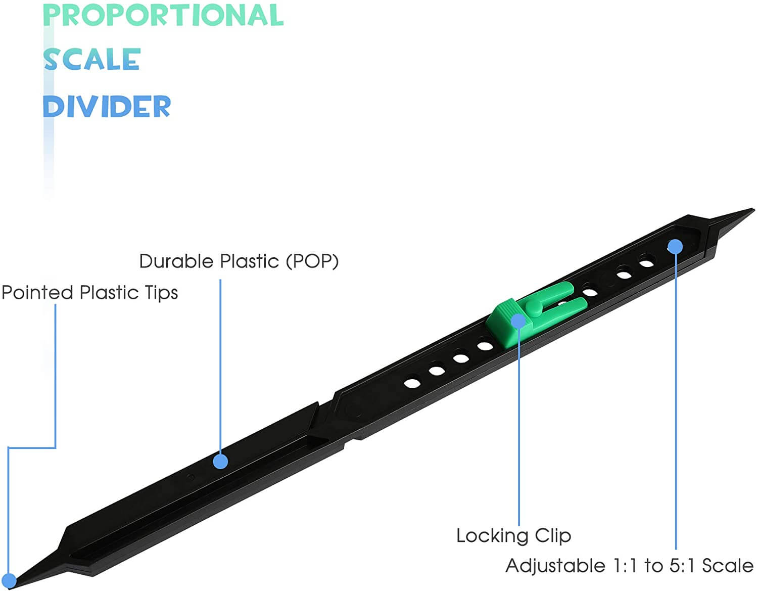 proportional scale divider yakor 2
